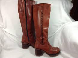 ladies leather motorcycle boots brazilian leather boots ladies from whywhynot on ruby lane