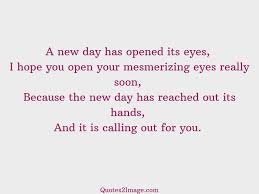 good morning hope quote a new day has opened good morning quotes 2 image