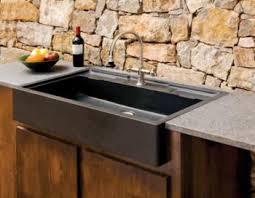 evier cuisine granit noir comparatif 2018 éviers en granit massif ou évier en inox