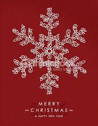 merry happy new year outline snow deco vector