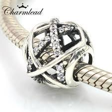 pandora charm bracelet sterling silver images Fits pandora charms bracelet 925 sterling silver beads sparkling jpg