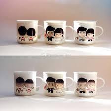 creative mug designs creative color changing mugs grow old together magic heat sensitive