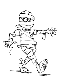 mummy coloring pages printable coloring image
