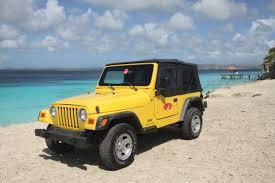 sand jeep wrangler jeep wrangler cabrio u2013 pb car rental bonaire