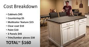 how to make a kitchen island out of base cabinets uk 40 diy kitchen island ideas that can transform your home