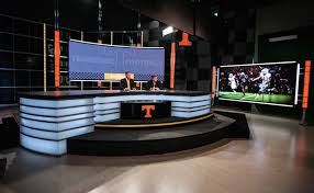 university of tennessee goes long with new studio set