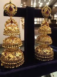 boutique designer jewellery 60 fresh gold jhumka designs wedding idea