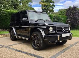 mercedes g wagon 2015 used 2015 mercedes benz amg g63 amg for sale in west yorkshire