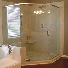 Angled Glass Shower Doors Heavy Glass Shower Doors In Ellicott City