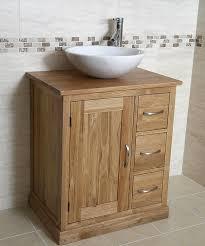 Bathroom Sink Vanity Units Uk - 50 off oak vanity unit with round marble sink bathroom prestige