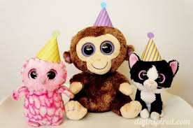beanie baby party ideas printables diy inspired