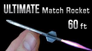 match rocket 60 foot ultimate matchbox rocket youtube