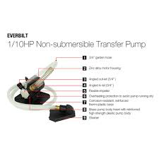 black friday home depot san ramon everbilt 0 1 hp non submersible transfer pump ze00802a the home