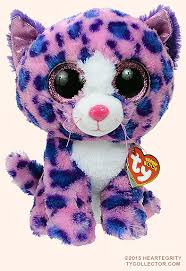 reagan medium ty beanie boo leopard