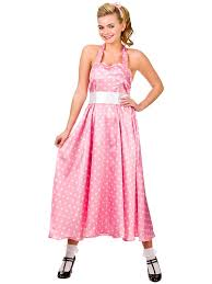 new 50s bopper dress ladies costume sandy grease rock u0026 roll