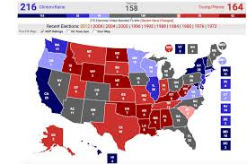 2008 Presidential Election Map by What The Latest Polls And Electoral Maps Are Telling Us