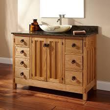 Vessel Vanity Double Bathroom Vanity With Vessel Sink Home Bathroom 48