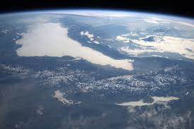 space station flyover of the mediterranean nasa
