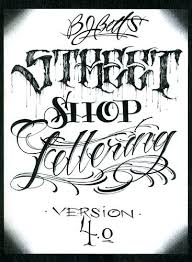 lettering font the fourth in the series is shop