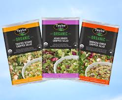 new organic chopped salad kits expand taylor farms chopped