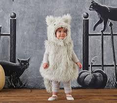 Kids Halloween Cat Costume Pottery Barn Kids Baby Gray Puffy Kitty Costume Pottery Barn Kids