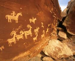 Arches National Park Map Wolfe Cabin Petroglyphs Arches National Park Photo Credit Moab