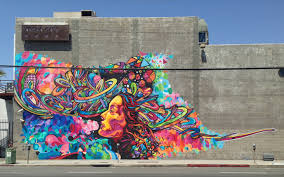 Spray Paint Artist - this street artist makes art from old spray paint cans creators