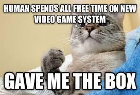 Success Cat Meme - success cat doesnt need your attention meme guy