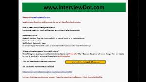 Best Resume Upload Site by How To Create Immutable Objects In Java What Is The Advantage Of
