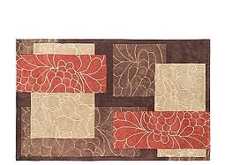 Orange And Brown Area Rug 8x11 Area Rugs