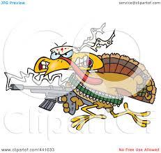cartoon images of thanksgiving turkey royalty free rf clip art illustration of a cartoon rambo
