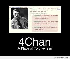 4chan Meme - 4chan a place of forgiveness by ben meme center