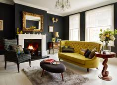 living rooms with black furniture exterior paint ideas decor for