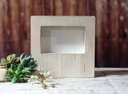 4x6 wood photo frame farmhouse decor couple wedding frame gift