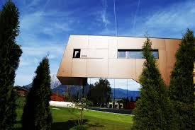 modern home design exterior 2013 physical therapist s practice merged with modern home in austria