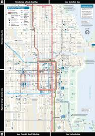 Chicago Suburbs Map Cta Online System Map Downtown Area