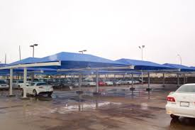 Canopy Car Wash by Braced T Post Car Parking Shade Canopy 21