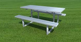 sturdisteel team benches aluminum benches