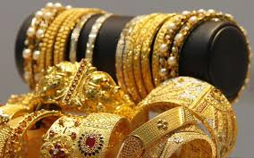 various gold jewelry items and ornaments used by womens