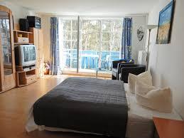 Wohnzimmer 40 Qm Ferienwohnung 11 Kormoran Gästehaus In Prerow Funkes Ferien
