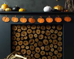 Halloween Decorations Shop Uk by Pumpkin Decor Etsy
