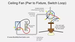 Ceiling Fan And Light Switch How To Wire A Ceiling Fan To A Light Switch Quora