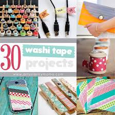 30 washi projects artsy fartsy