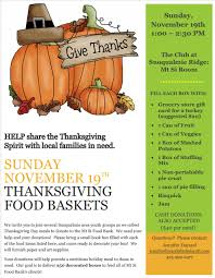 how to help community members provide 250 thanksgiving