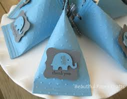 elephant favors blue and grey baby elephant baby shower favors birthday