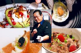 cuisine chef chef joseph yoon creates edible insect delights in nyc ento