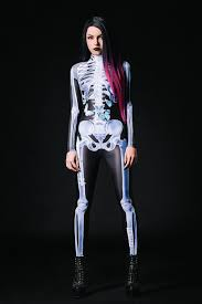 Womens Skeleton Halloween Costume Women Halloween Costume Halloween Costume Women