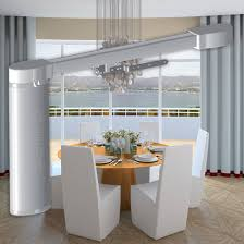 Ceiling Mounted Curtain Track System Curtains Ideas Ceiling Mount Curtain Track System Inspiring