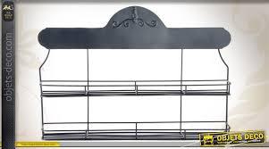 etagere cuisine metal etagère de cuisine murale en métal