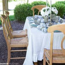 seaside decor setting a summer table with coastal dinnerware